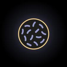 Bakteri İkonu